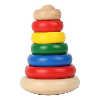 Wobble Pyramid Wooden Kid's Toy