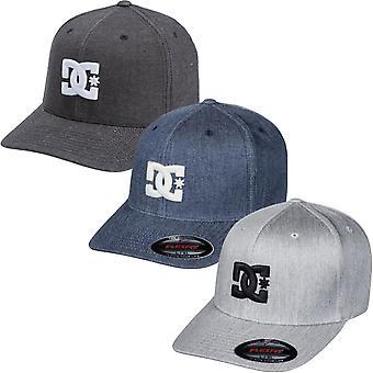 DC Chaussures Homme Cap Star Flexifit 6 panneaux Visière incurvée Chapeau casquette de baseball