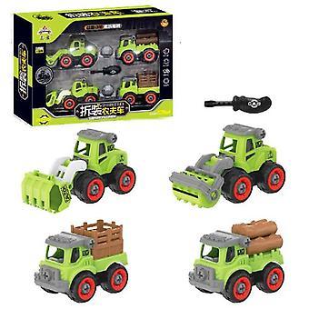 Children's afneembare boerderij voertuig speelgoed