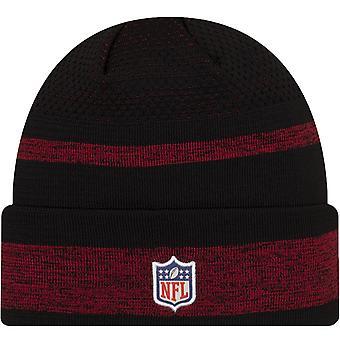 New Era Arizona Cardinals NFL Sideline Tech 2021 Cuff Beanie Hat - Black