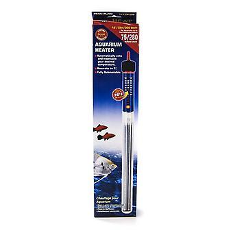 "Penn Plax Cascade Submersible Heat Aquarium Heater - 300 Watts - 12"" Long (75 Gallons)"