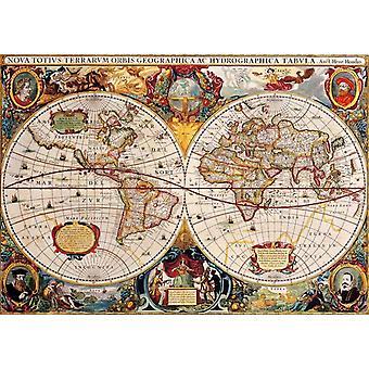 Bluebird Antique World Map Jigsaw Puzzle (1000 Pieces)