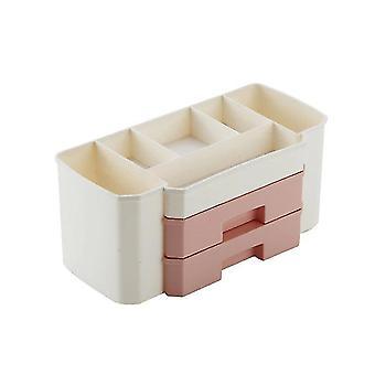 Household storage containers makeup organizer drawer cosmetic storage box jewelry nail polish makeup container case organizers