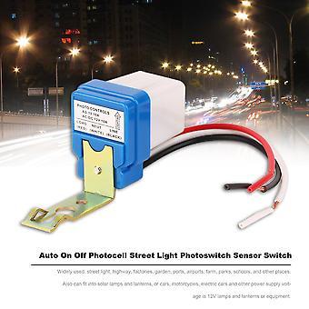 Ac Dc 12v 10a Auto On Off Fotocell Street Light Photoswitch érzékelő kapcsoló
