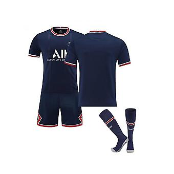 Messi Psg No Number Jersey,paris Team T-shirt-messi-home (family Outfit 2pcs)