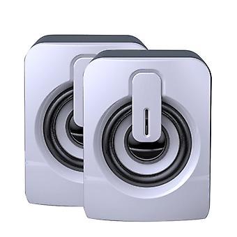 Mini Computer Lautsprecher USB Wired Lautsprecher 3D Stereo Sound Surround Lautsprecher für PC Laptop Notebook Nicht Bluetooth Lautsprecher