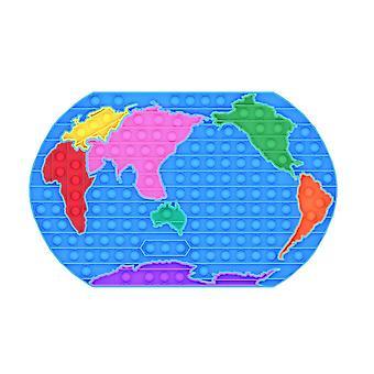 Carte du monde Puzzle Push Pop Bubble Jouets