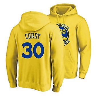 Men's Soft Fleece Hoodie Golden State Warriors Steph Curry #30 Basketball Coats Sport Pullover Casual Sweatshirt