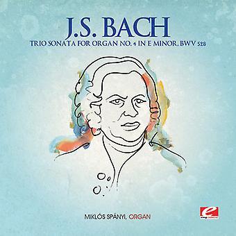 J.s. Bach - j.s. Bach: Trio Sonata Orgel Nr. 4 in E-Moll Bwv 528 [CD] USA import