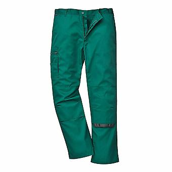 Portwest - Bradford Workwear Polycotton Cargo Trousers With Knee Pad Pockets