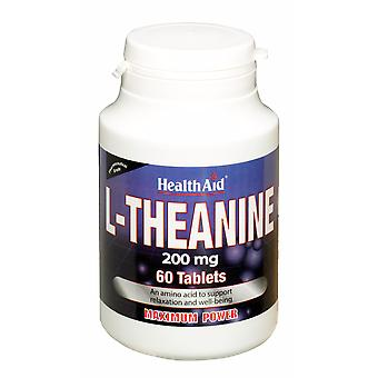 Health Aid L-Theanine 200mg 60's Tablets