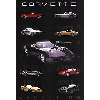 Evolution-Corvette-Poster-Plakat-Druck