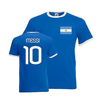 Lionel Messi अर्जेंटीना रिंगर टी (नीला)