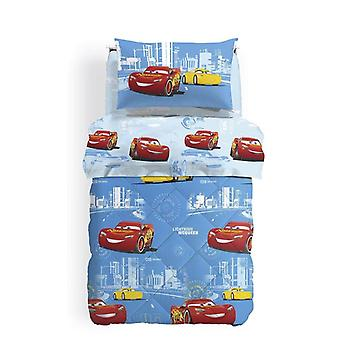 Microfiber Queen Size Bed quilt Cars by Caleffi