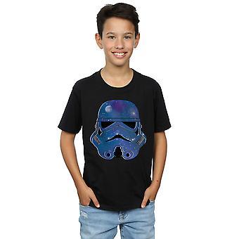 Star Wars meninos Stormtrooper espaço t-shirt