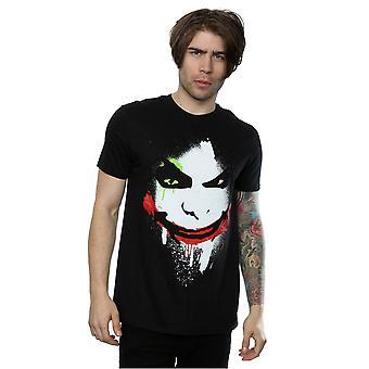 DC Comics Batman Arkham City Joker Face T-Shirt homme