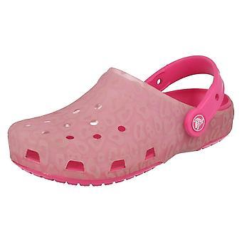 Meisjes Crocs Chmlns Trnslt Clg K zomer klompen kleur veranderen!