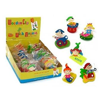 Import Pinza Clip With Iman Pirates (Babies and Children , Toys , Educative And Creative)