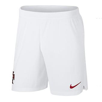 2018-2019 Portogallo Nike Vapor via pantaloncino (bianco)