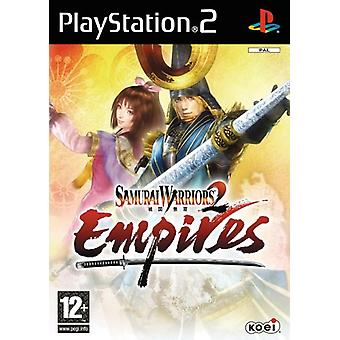 Samurai Warriors 2 Empires (PS2) - Fabrik versiegelt
