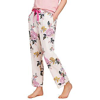 Joules Womens/Ladies Z Snooze Woven Soft Lightweight Pyjama Bottoms