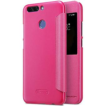Nillkin smart cover Pink for Huawei honor 8 per bag sleeve case pouch protective