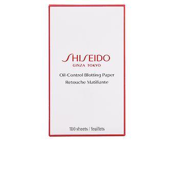 Shiseido Essentials Öl Kontrolle Löschpapier 100 Blätter für Frauen