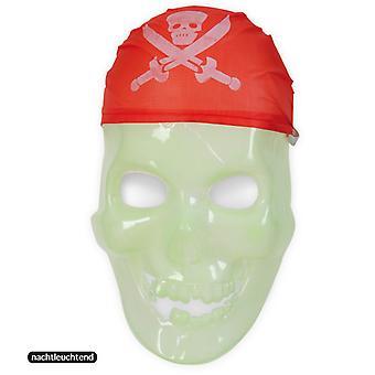 Kalóz maszk Night-csillogó koponya koponya Half maszk Ghost Pirate