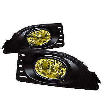 Acura RSX 05-07 OEM Style Fog Lights - Yellow