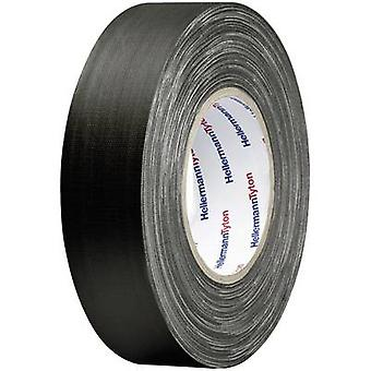HellermannTyton HTAPE-TEX-BK-50x50 712-00904 Cloth tape HelaTape Tex Black (L x W) 50 m x 50 mm 1 pc(s)