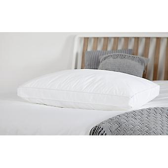 Snuggledown Back Sleeper Pillow Medium Support Non-Allergenic with Cotton Cover