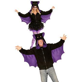 Männer Kostüme Fledermaus hoodie