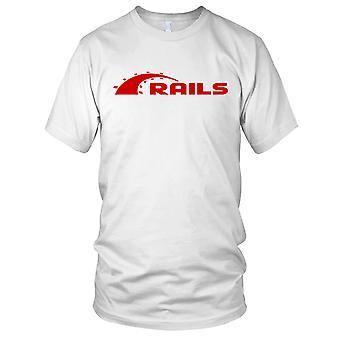 Ruby On Rails koder koding programmering Web damer T skjorte