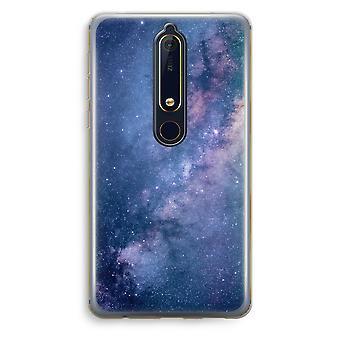 Nokia 6 (2018) caso transparente (Soft) - nebulosa