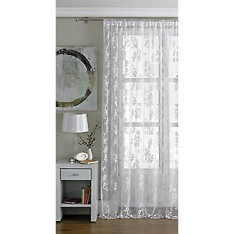 Country Club Vintage Lace Panel White 57x90