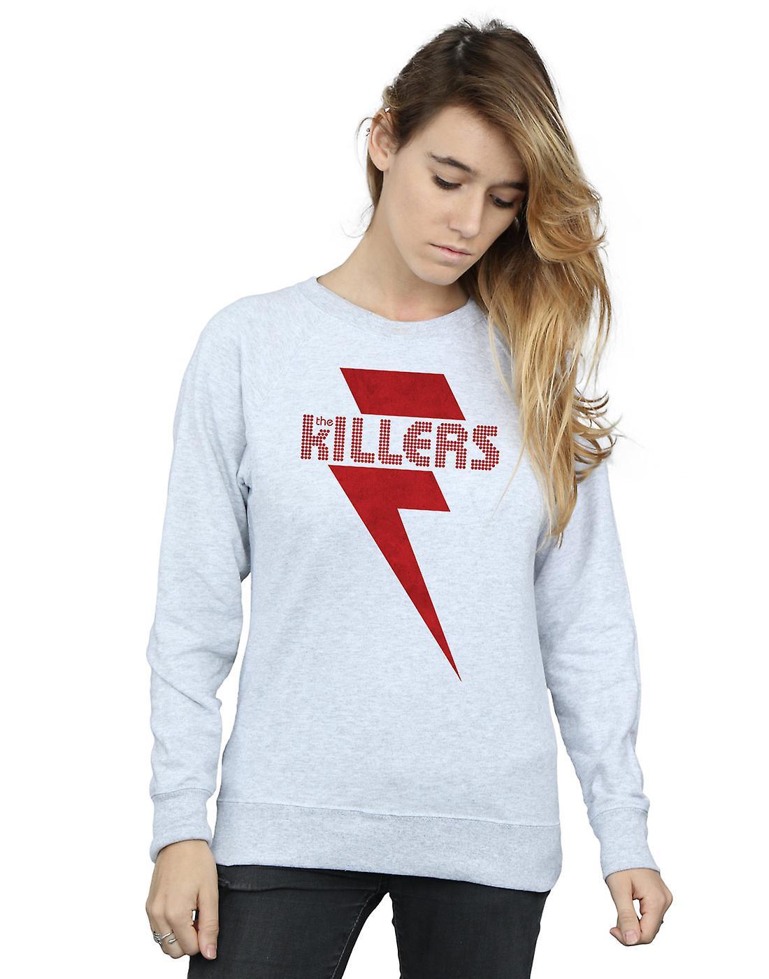 The Killers Women's Red Bolt Sweatshirt