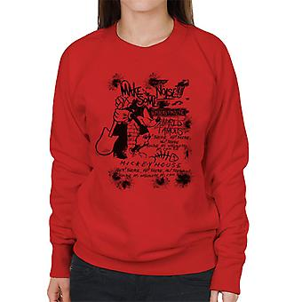 Disney Mickey Mouse Band maken wat lawaai vrouwen Sweatshirt