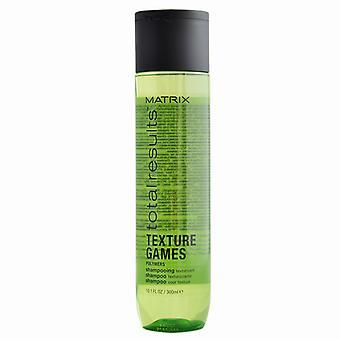 Total de matrice donne Texture jeux shampooing 300 ml
