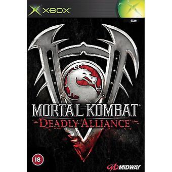 Mortal Kombat Deadly Alliance (Xbox) - New
