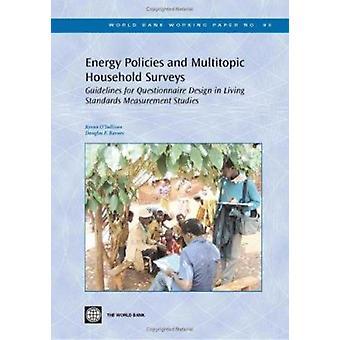 Las políticas energéticas y encuestas de hogares Multitopic - pautas para Ques