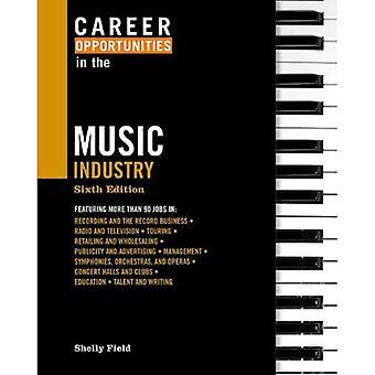 Possibilités de carrière dans l'industrie de la musique