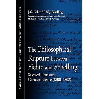 Den filosofiska brytningen mellan Fichte och Schelling