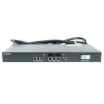 Smart Switched Rack Mount 1U PDU | 125V 30A | L5-30P 8 x 5-15r