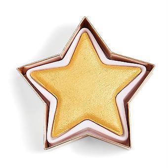 Make-up revolutie in hart revolutie ster van de show Highlighter Gold Star