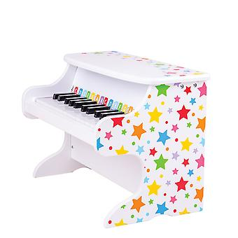Bigjigs lelut puinen Kids Table Top piano-lasten soittimia