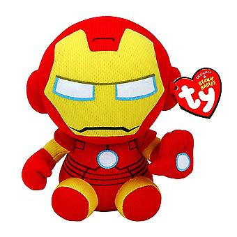 Ty Marvel Iron Man Beanie 6