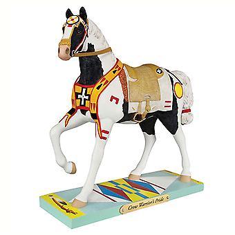 Gemalte Ponys krieger Pride Figurine
