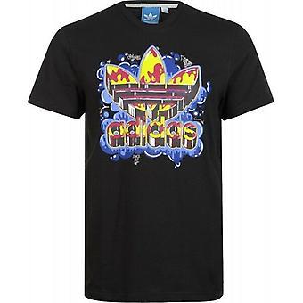 Adidas Originals Old School trefoil T-shirt