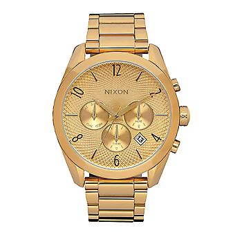 Nixon das Bullet Chrono All Gold (A366502)