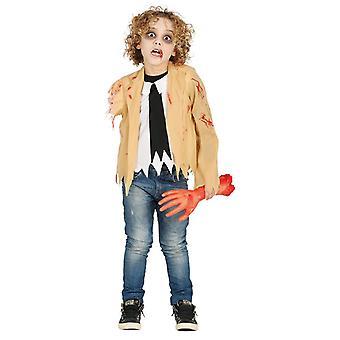 Boys Childrens Armless Zombie Halloween Fancy Dress Costume